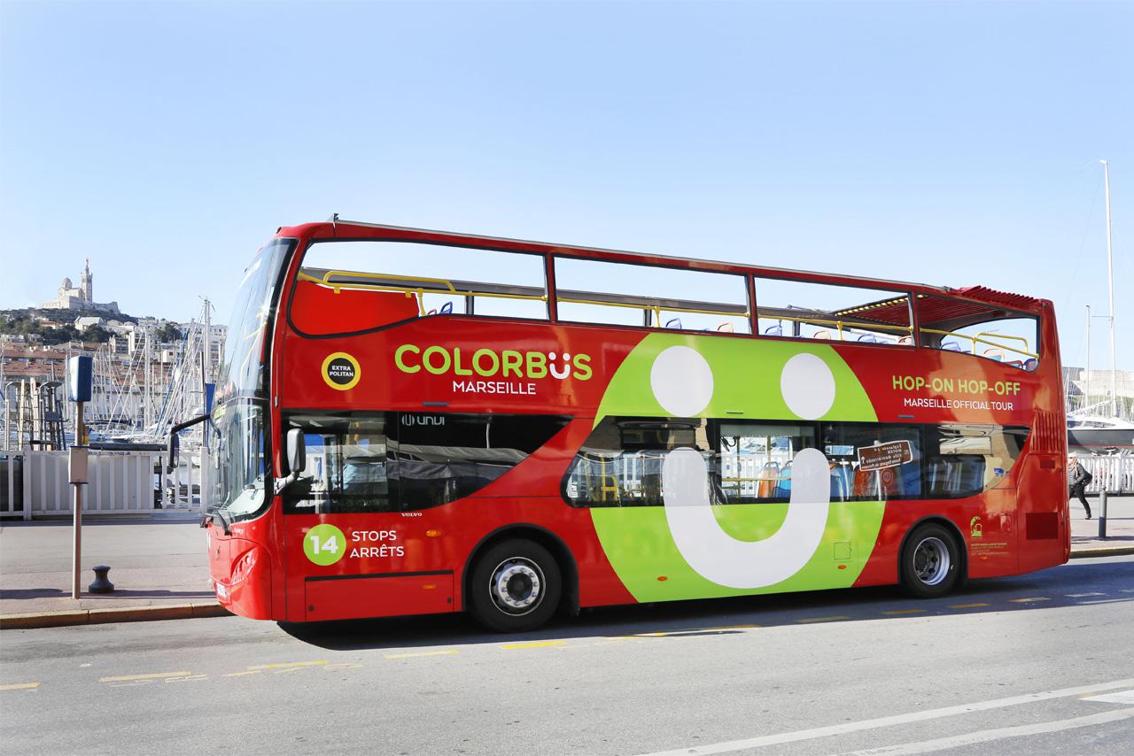 Bus Touristique Marseille • Colorbüs Marseille