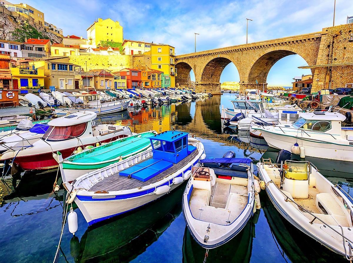 Vallon des Auffes de Marseille • Lieux Emblématiques • Colorbüs