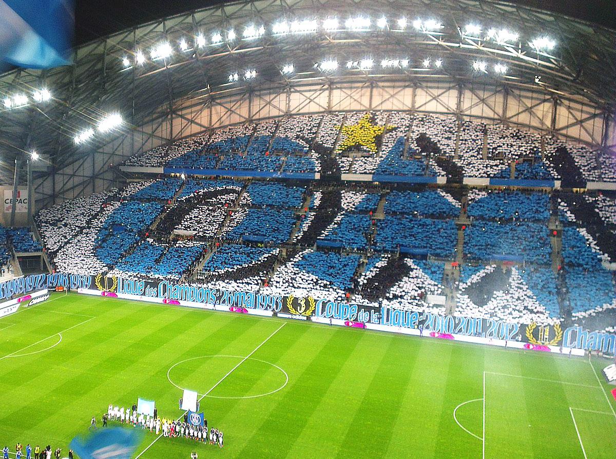 Stade Vélodrome de Marseille - Orange Vélodrome - Olympique de Marseille • Lieux Emblématiques • Colorbüs